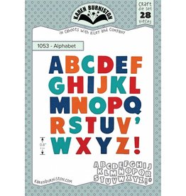 Karen Burniston Karen Burniston Alphabet 1053