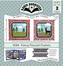 Karen Burniston Karen Burniston Fancy Flourish frames 1044
