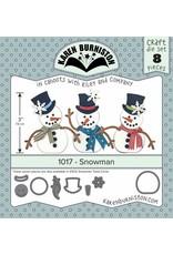 Karen Burniston Karen Burniston Snowmen 1017