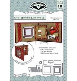 Karen Burniston Spinner square pop up 1042