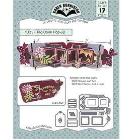 Karen Burniston Tag book pop up 1023