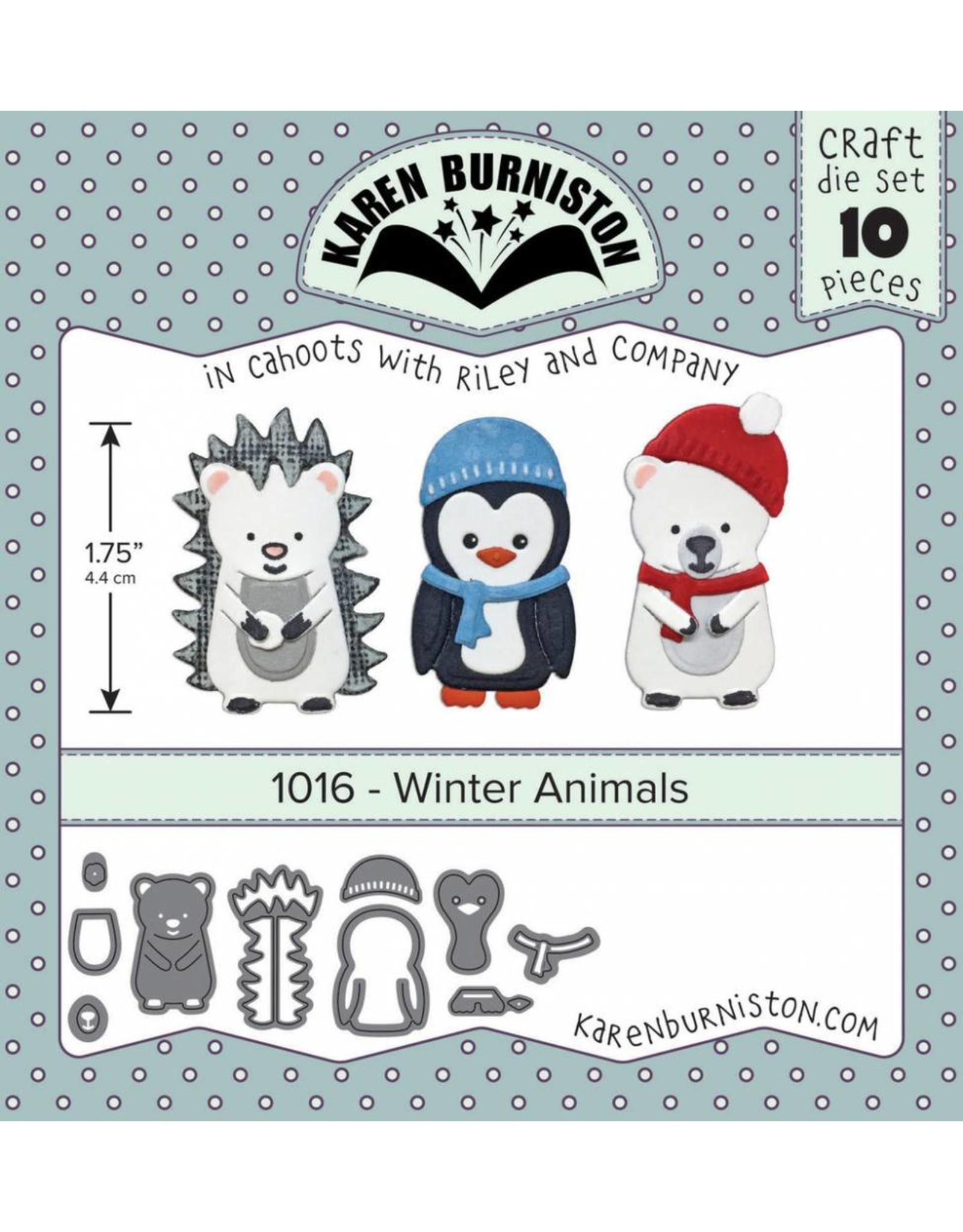 Karen Burniston Karen Burniston Winter Animals 1016