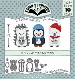 Karen Burniston Karen Burniston Winter Animals 1016
