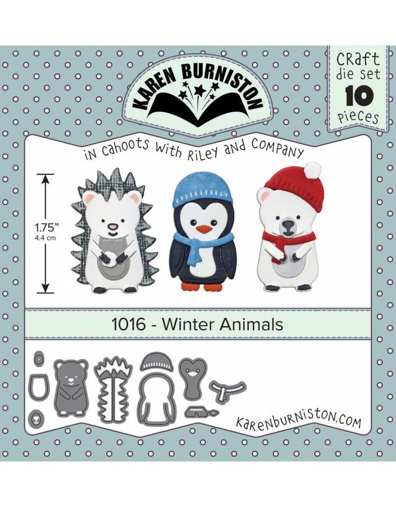 Winter Animals 1016 Karen Burniston