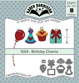 Karen Burniston Karen Burniston Birthday charms die set 1004