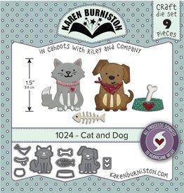 Karen Burniston Karen Burniston Cat and Dog 1024