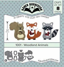 Karen Burniston Karen Burniston Woodland animal 1001