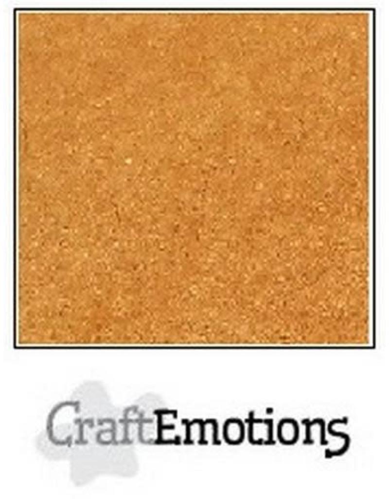 CraftEmotions karton kraft bruin A4 220GR