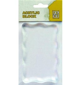 Nellie`s Choice acrylic stamping bloc 50x80x8mm AB005
