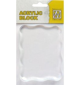 Nellie`s Choice acrylic stamping bloc 70x90x8mm AB006