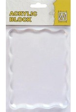 Nellie's Choice Nellie`s Choice acrylic stamping bloc 120x90x8mm AB007