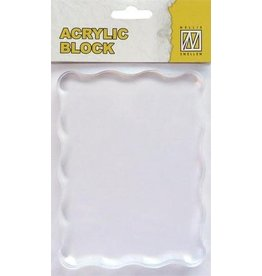 Nellie`s Choice acrylic stamping bloc 120x90x8mm AB007