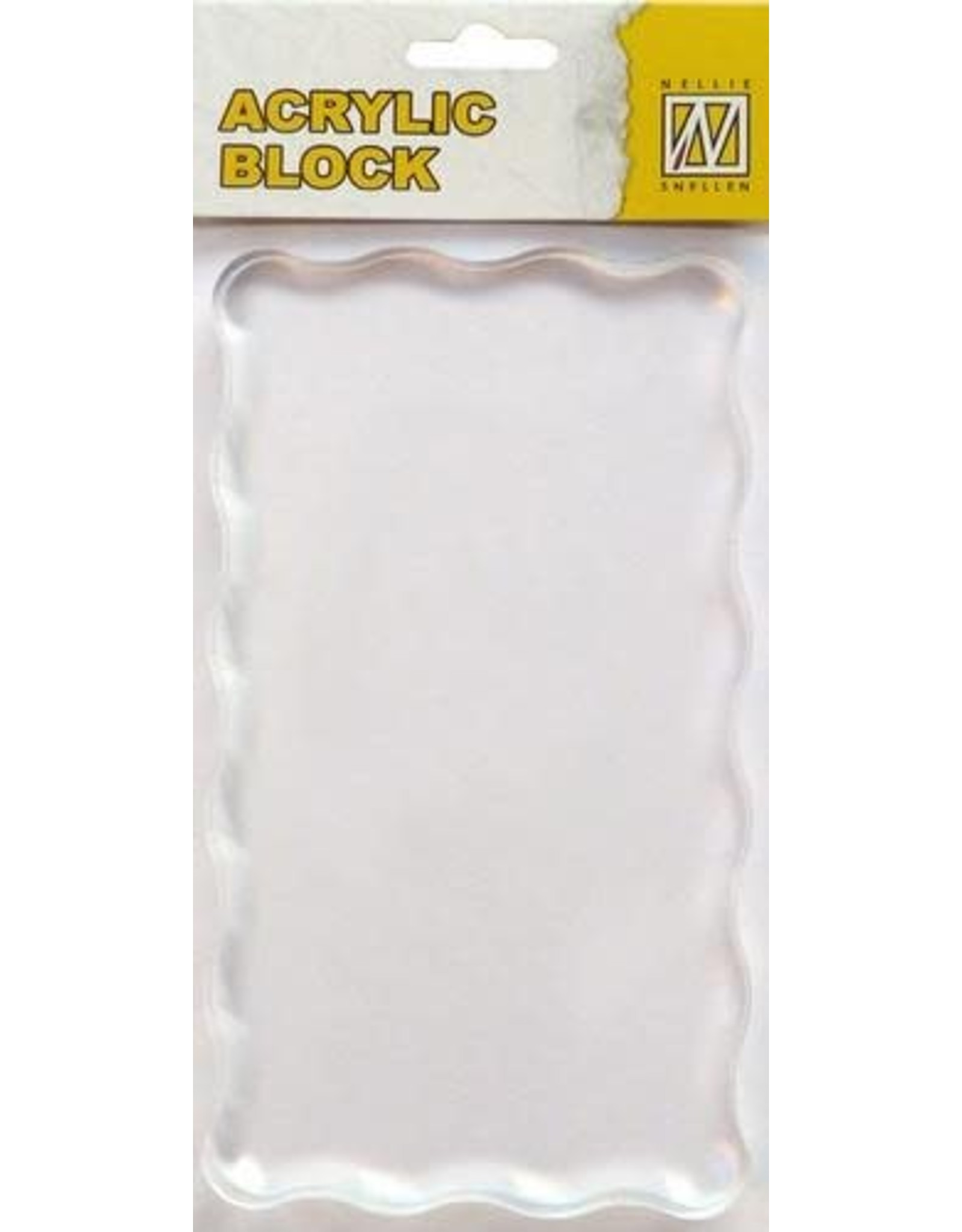 Nellie`s Choice acrylic stamping bloc 160x90x8mm AB008
