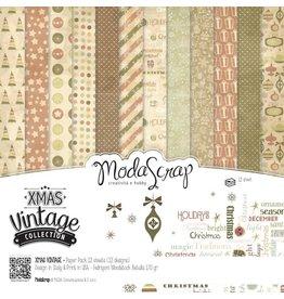 Elizabeth Craft Designs Elizabeth Craft Designs Papier Xmas Vitage colletion 30,5 x 30,5