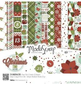 Elizabeth Craft Designs Elizabeth Crafts Design Papier It's Christmas Time 15 x 15