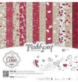 Elizabeth Craft Designs Elizabeth Crafts Design Papier Simply Love 15 x 15