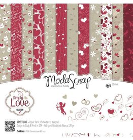 Elizabeth Crafts Design Papier Simply Love 15 x 15