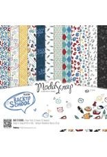 Elizabeth Craft Designs Elizabeth Craft Designs Papier Back to School 15 x 15