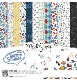 Elizabeth Craft Designs Elizabeth Craft Designs Papier Back to School 15 x 15