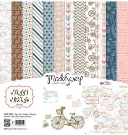 Elizabeth Craft Designs Elizabeth Craft Designs Papier Viaggi Vintage 15 x 15