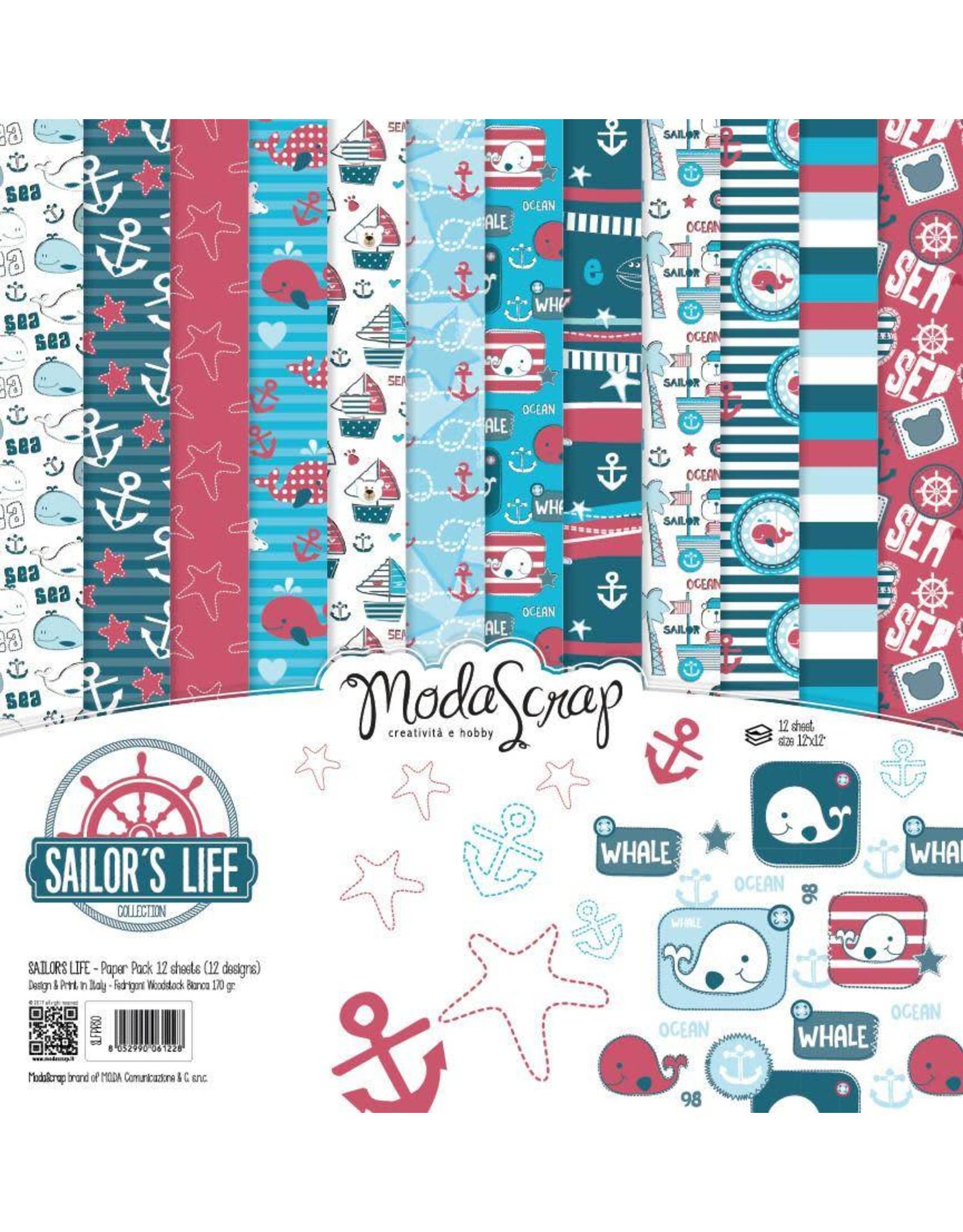 Elizabeth Craft Designs Elizabeth Craft Designs Papier Sailor's Life 15 x 15