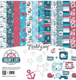 Elizabeth Craft Designs Elizabeth Craft Designs Papier Sailor's Life 15 x 15