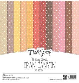 Elizabeth Crafts Design Papier Gran Canyon 15 x 15