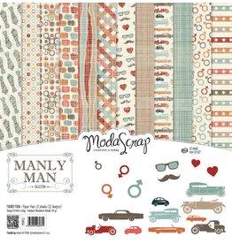 Elizabeth Craft Designs Elizabeth Craft Designs Papier Manly Man 15 x 15