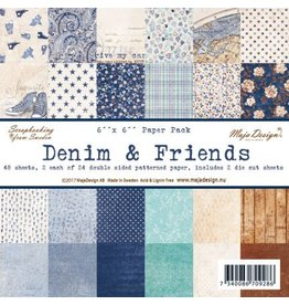 Maja Design Denim & Friends Paper Pack