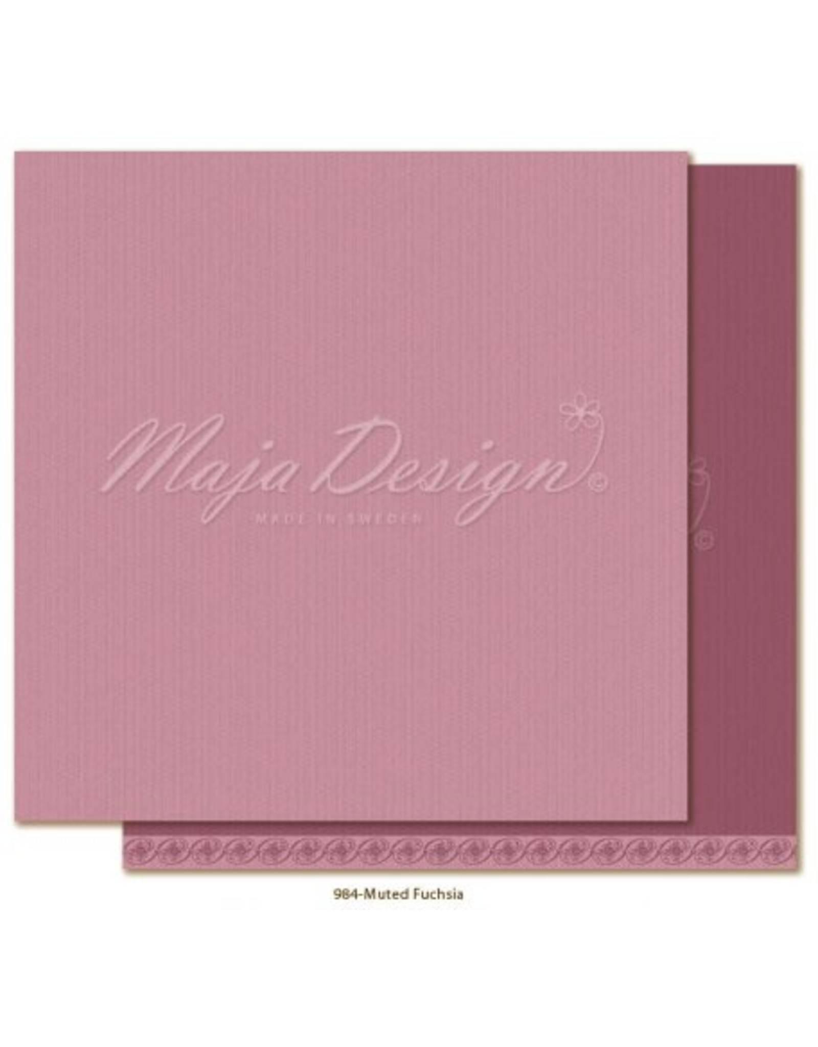 Maja Design Maja Design Monochromes Shades of Celebration Muted Fuchsia