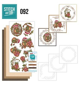 Stitch and Do 92 - Christmas Owls