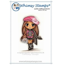 Wimsy Stamps Whimsy Stamps Winter Wendy MRJ168