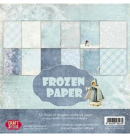 Craft & You Craft&You Frozen Paper BIG Paper Set 12x12 12 vel CPS-FP30