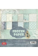 Craft&You Frozen Paper Small Paper Pad 6x6 36 vel CPB-FP15