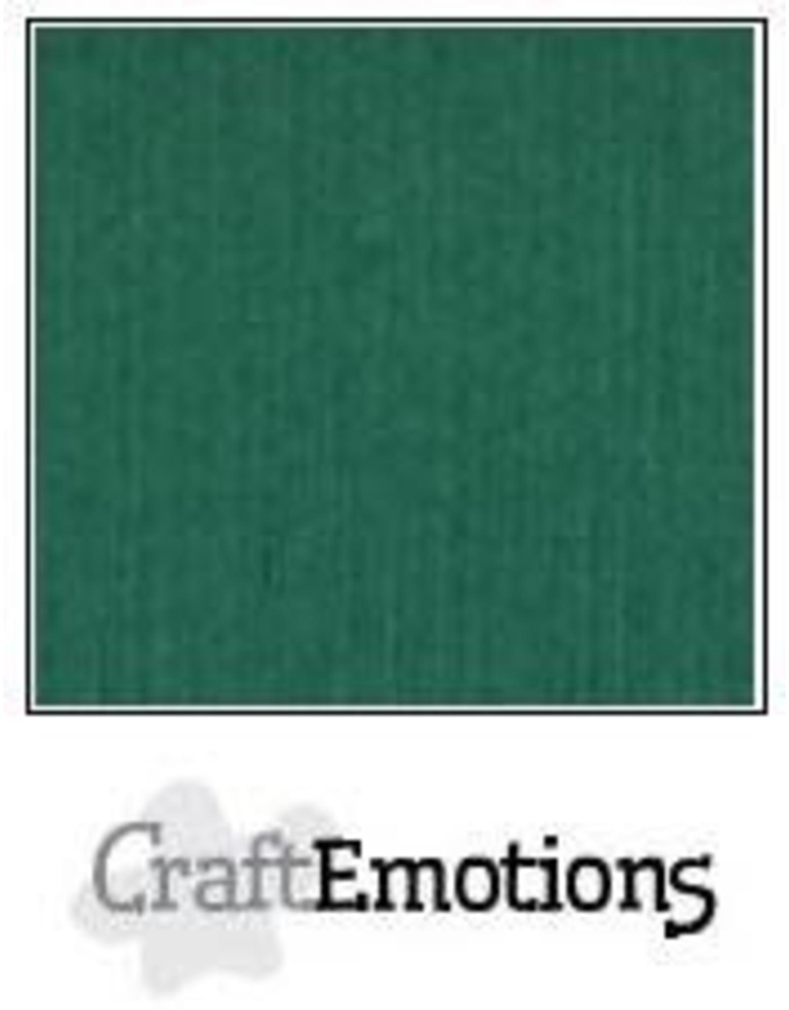 Craft Emotions CraftEmotions linnenkarton kerstgroen LHC-36 A4 250gr