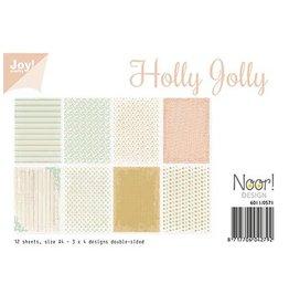 Joy Crafts Papierset - Holly Jolly A4 6011/0571
