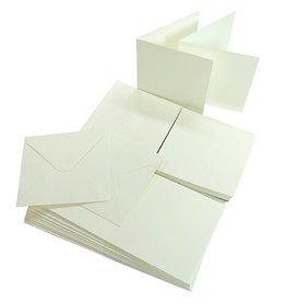 Joy Crafts Kaarten en Enveloppen Wit 800/0020