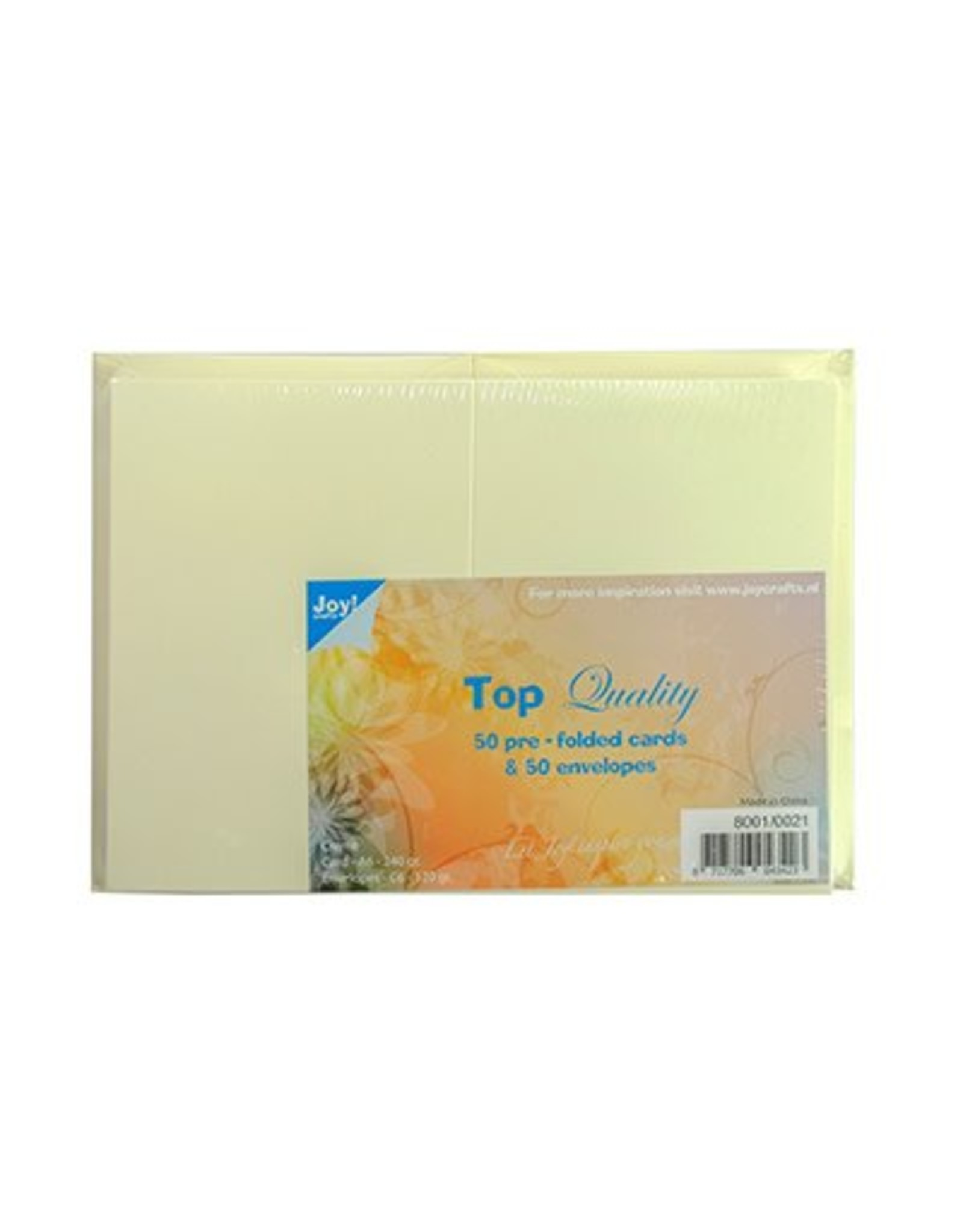 Joy Craft Joy Crafts kaarten en enveloppen creme 8001/0021