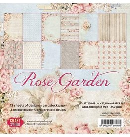 Craft & You Craft&You Rose Garden Paper Set 12x12 12 vel CPS-RG30
