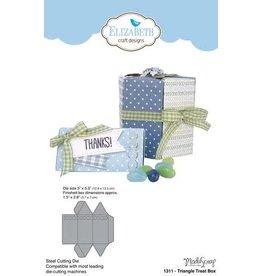 Elizabeth Craft Designs Elizabeth Craft Designs Triangle treat box 1311
