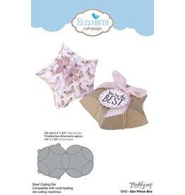 Elizabeth Crafts Design Star pillow box 1312