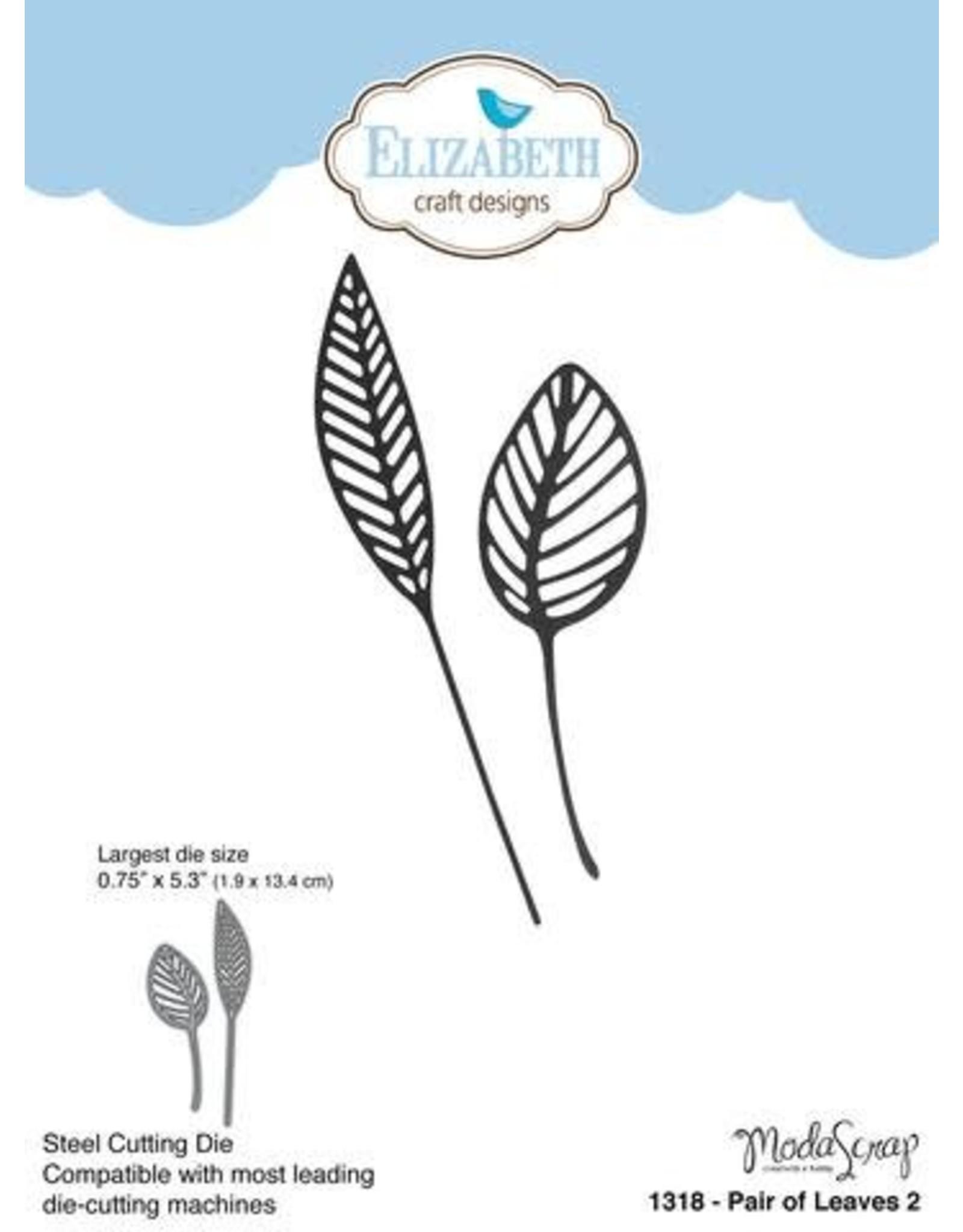 Elizabeth Craft Designs Elizabeth Craft Designs Pair of leaves 2  1318