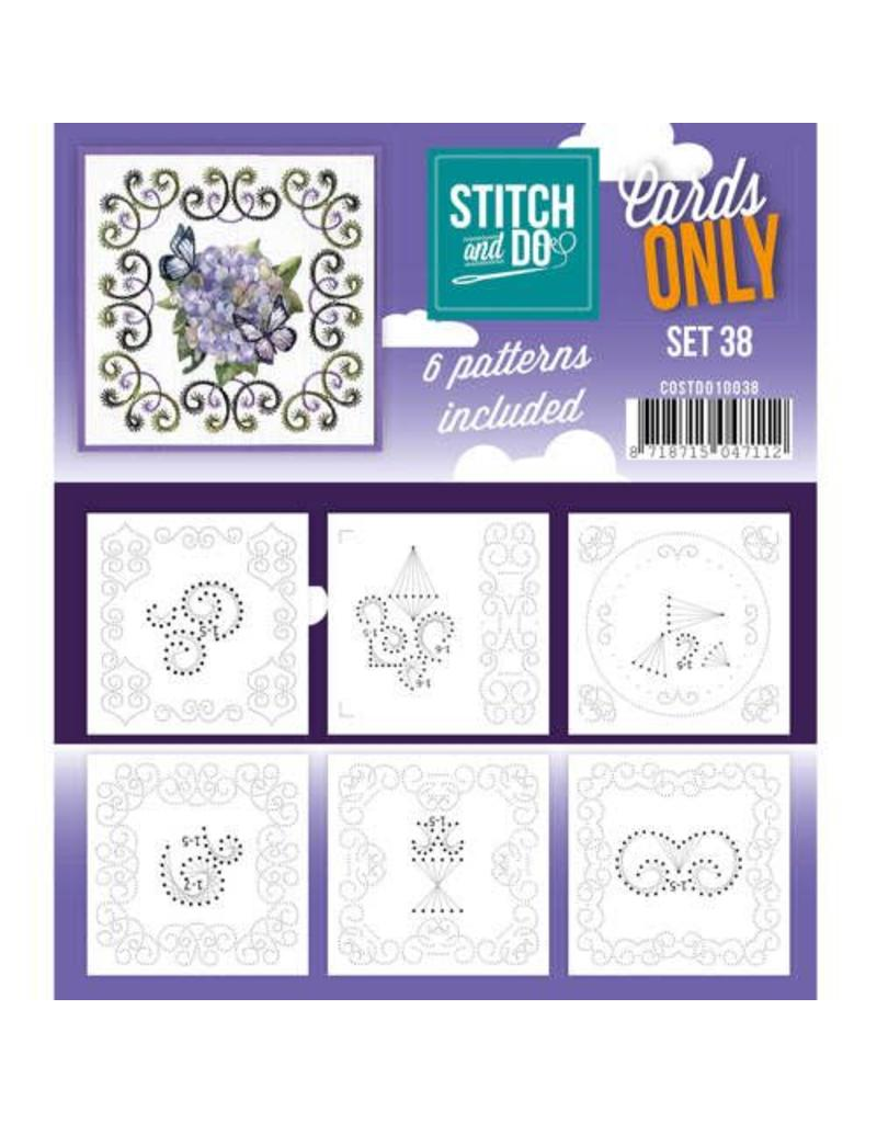 Cards only stitch 38