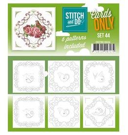 Cards only Stitch 44