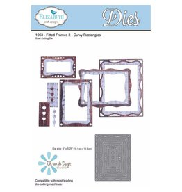 Elizabeth Craft Designs Elizabeth Craft Designs Fitted Frames Curvy Rectangles 1063