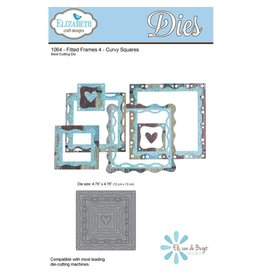 Elizabeth Craft Designs Elizabeth Craft Designs Fitted Frames Curvy Squares 1064