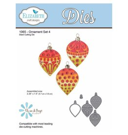 Elizabeth Craft Designs Elizabeth Craft Designs dies Ornament set 4 1065