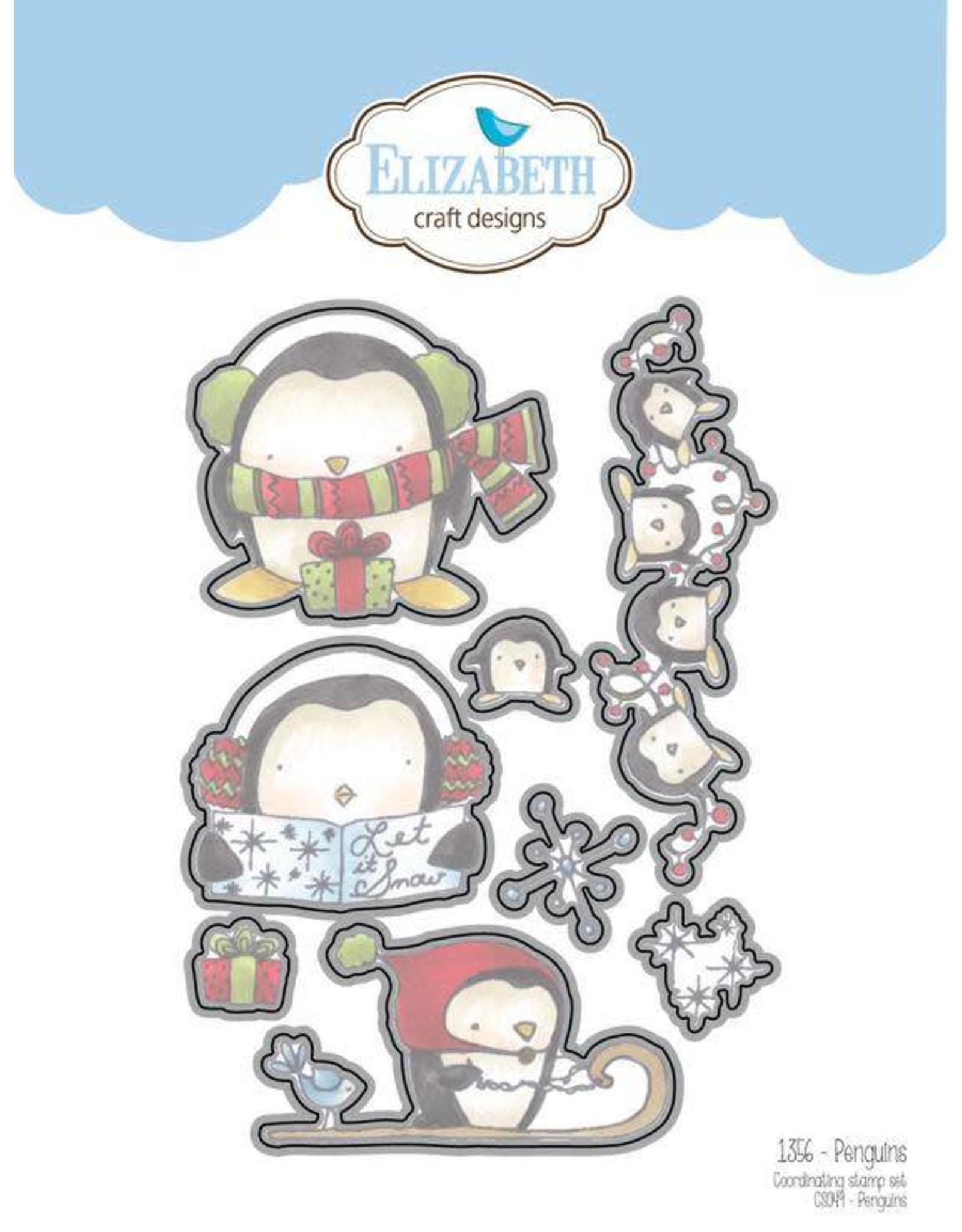 Elizabeth Craft Designs Elizabeth Craft Designs Penguins dies 1356