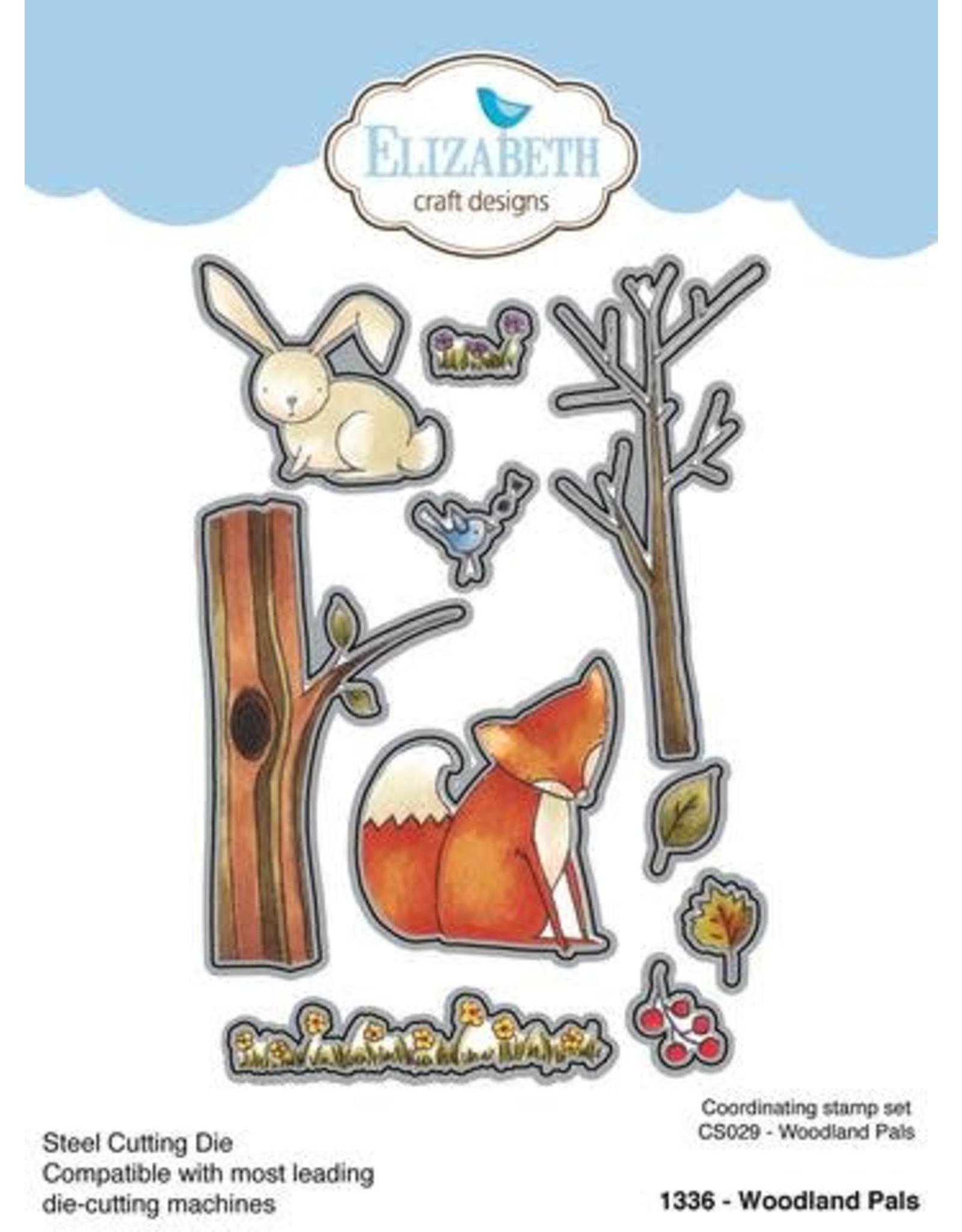 Elizabeth Craft Designs Elizabeth Craft Designs Woodland Pals Die 1336