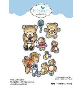 Elizabeth Craft Designs Elizabeth Craft Designs Teddy bear Picnic die 1340